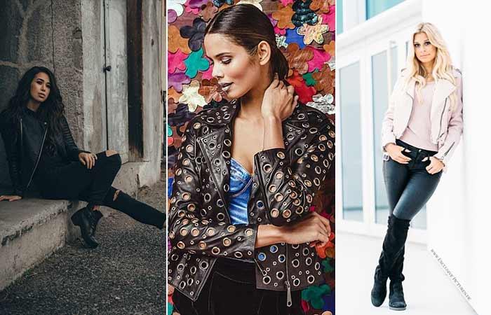 Types Of Jackets - Leather Jacket