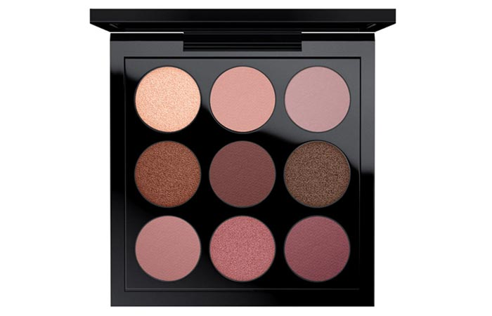 2. M.A.C Eyeshadow X 9 – Burgundy Times Nine