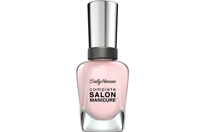 Best Nude Nail Polishes - 2. Sally Hansen Complete Salon Manicure In Shell We Dance