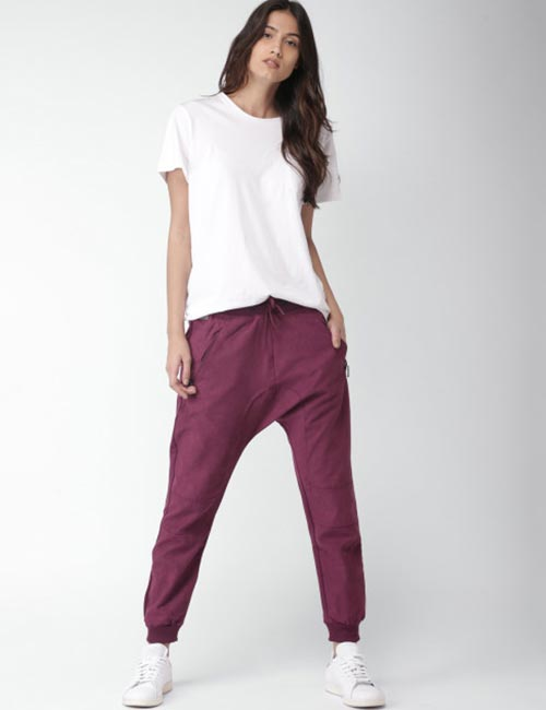 Ways To Wear Joggers - Harem Pants Style Joggers