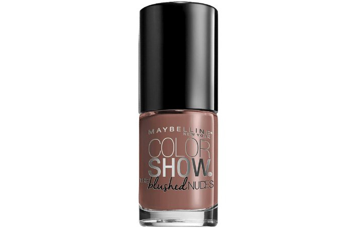 Nude Nail Polishes - Maybelline Color Show Blushed Nudes Nail Polish In Toasted Taupe