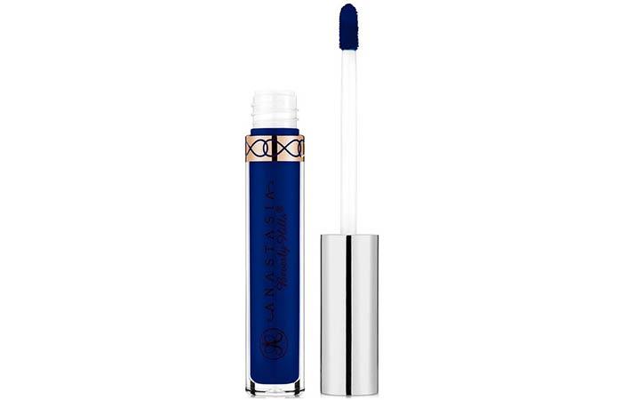 Best Blue Lipsticks - 3. Anastasia Beverly Hills Liquid Lipstick In Paint