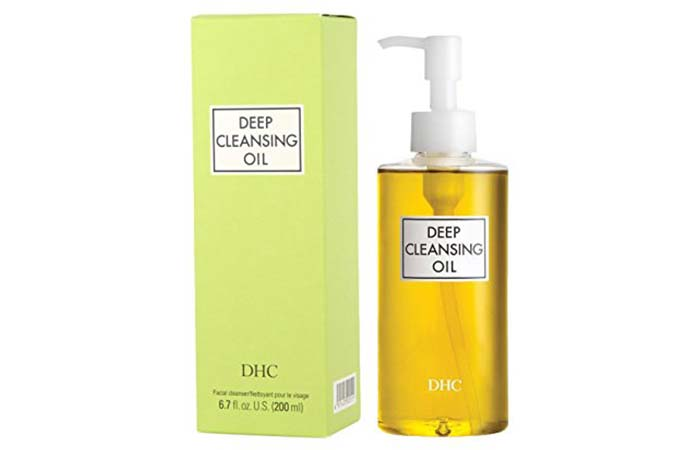 3. DHC Deep Cleansing Oil