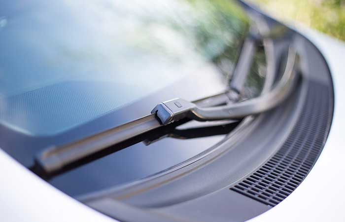 3. The Dots On The Frit Band Of Your Car