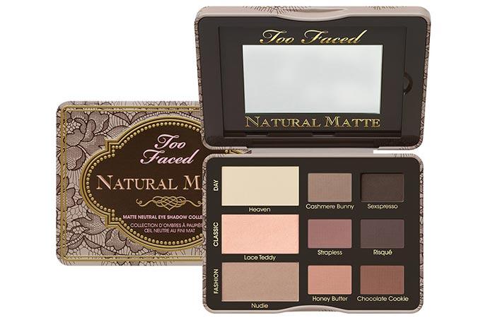 Best Matte Eyeshadow Palettes - 3. Too Faced Natural Matte Eye Palette