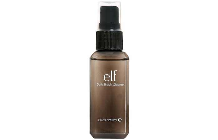 3. Elf Daily Brush Cleaner