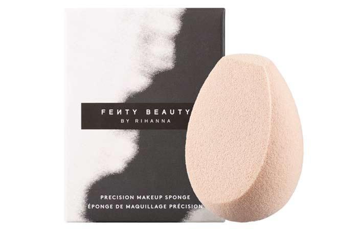Best Makeup Sponges And Blenders - 4. Fenty Beauty Precision Makeup Sponge