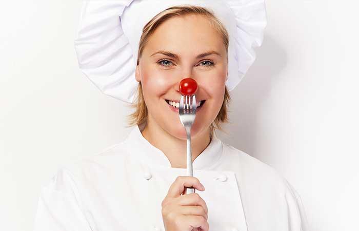 4. Get A Symmetrically Contoured Nose With A Fork