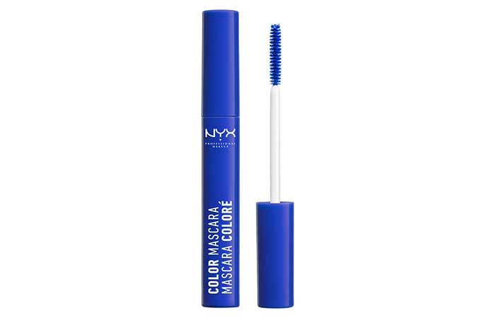 Best Selling Blue Mascara - 4. NYX Color Mascara In Blue