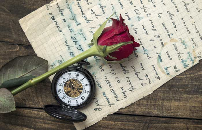 4. Sometimes, We Hold On To Keepsakes From Our Old Relationships