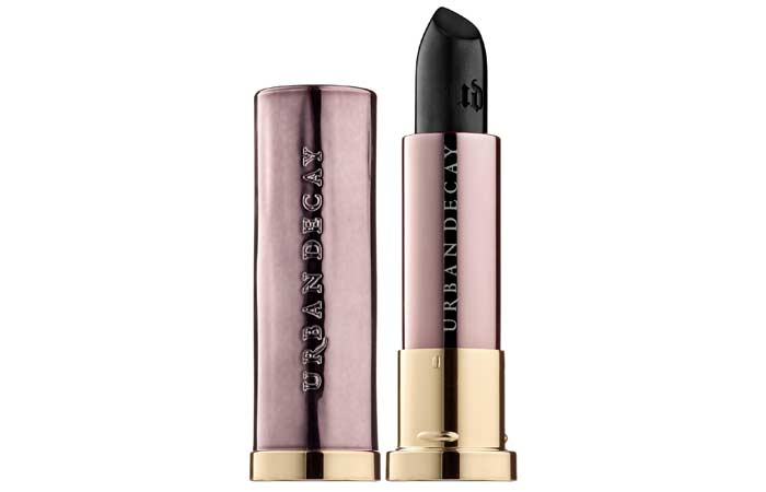 Best Black Lipsticks - 4. Urban Decay Vice Lipstick In Perversion