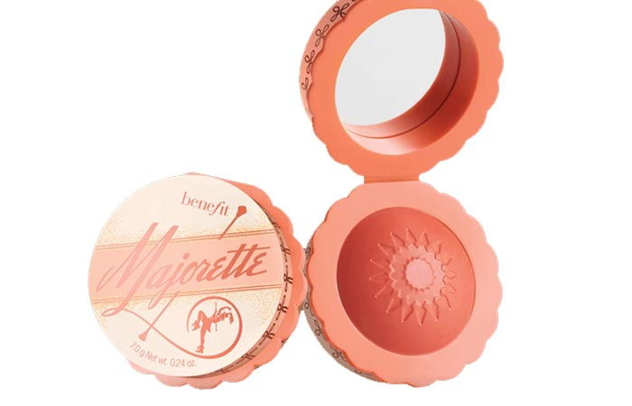 Best Selling Cream Blushes - 5. Benefit Majorette Booster Blush