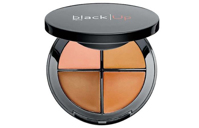 Best Concealer Palettes For Flawless Skin - 5. Black Up Concealer Palette