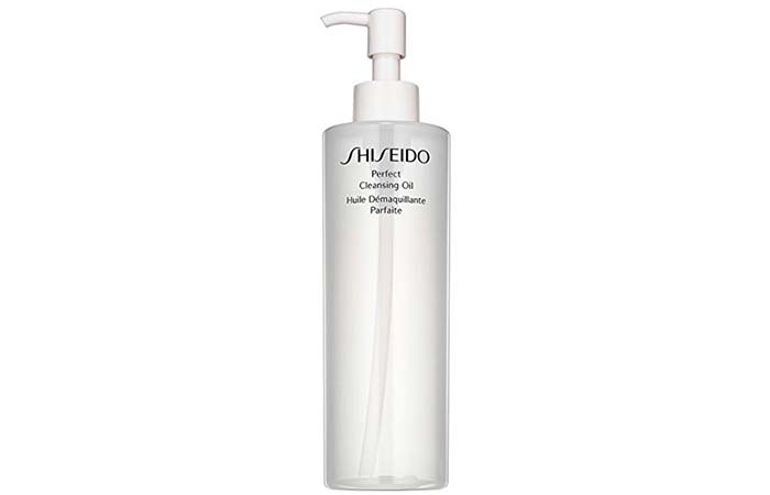 5. Shiseido Perfect Cleansing Oil