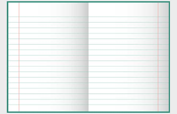 5. The Margins On Your Notebook