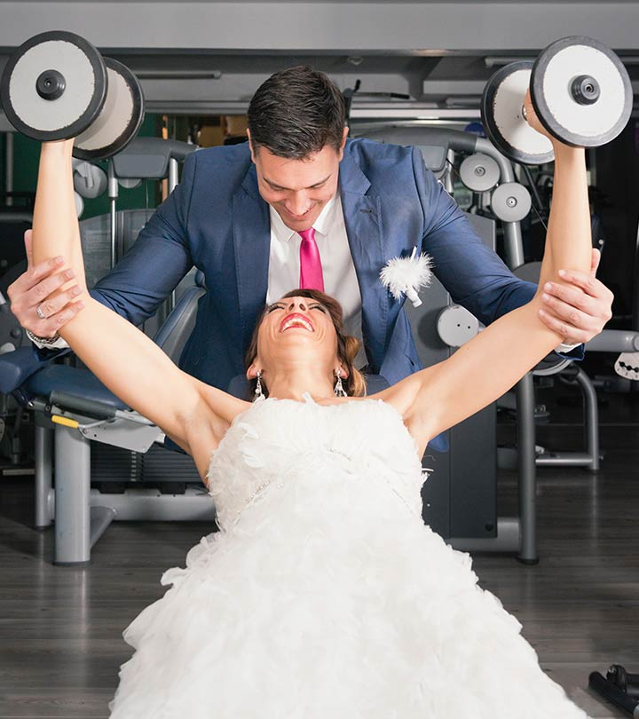 6 Workouts For The Bride To Do Before The Wedding!