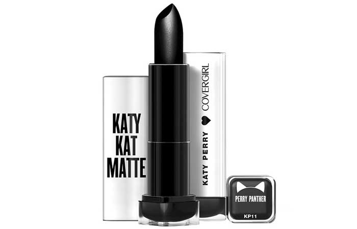 Best Black Lipsticks - 8. Covergirl Katy Kat Matte Lipstick In Perry Panther