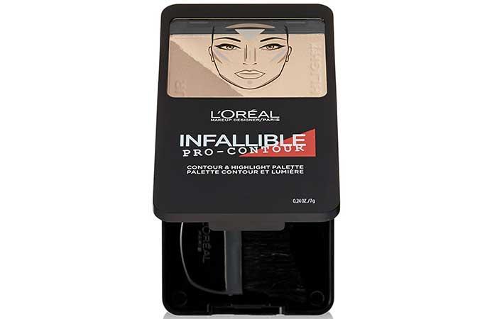 Best Drugstore Contour Kits - 6. L'Oreal Paris Cosmetics Infallible Pro Contour Palette