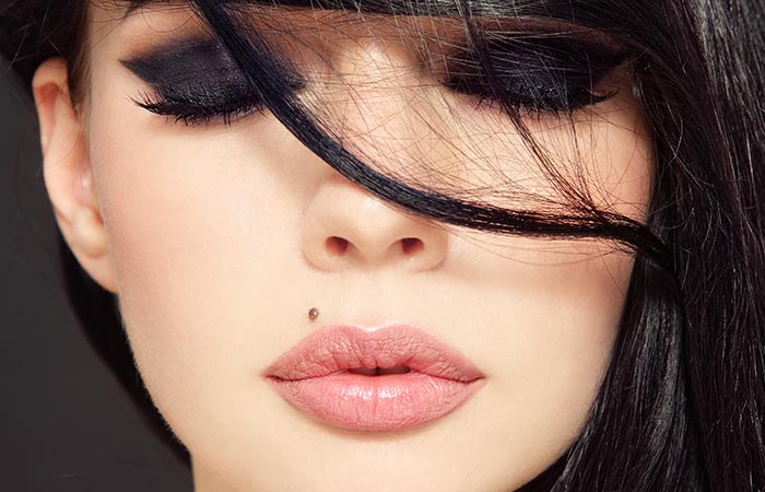 6. Mole On Your Chin And Lip
