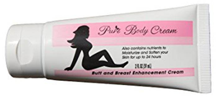 6. Pure Body Butt Enhancement Cream