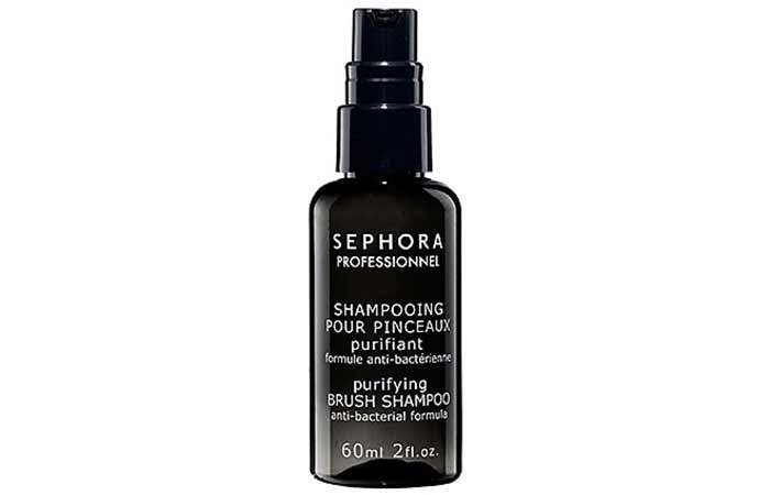 Best Makeup Brush Cleaners - 6. Sephora Collection Purifying Brush Shampoo