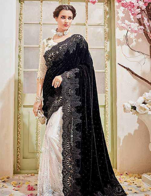 6. The Dazzling Embellished Saree