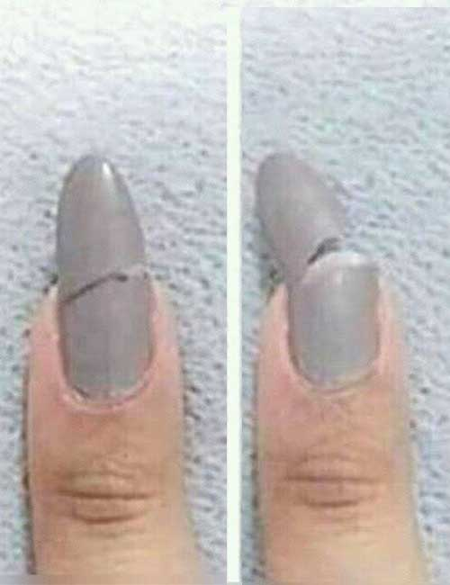 6. When the pain of a chipped nail hurts more than a broken heart.