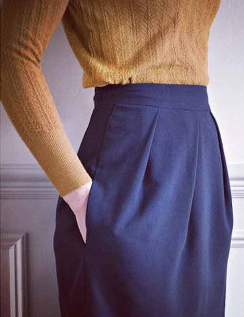 7. High-Waist Tulip Skirts