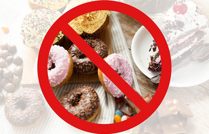 7. Stop Consuming Excess Sugar