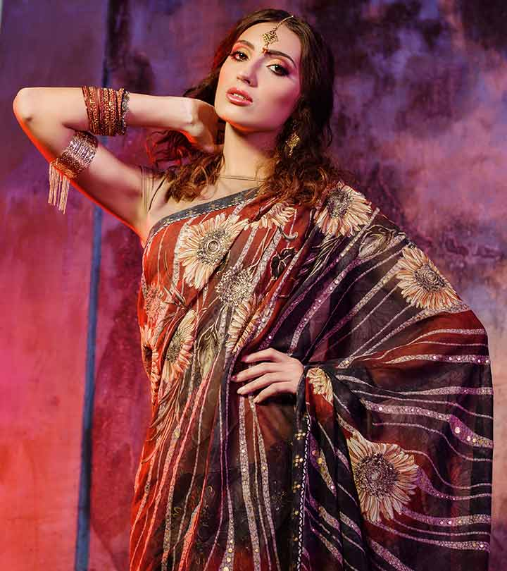 8 Of The Best Sarees You'll Look Gorgeous In