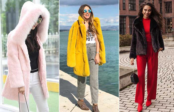 Types Of Jackets - Faux-Fur Jacket