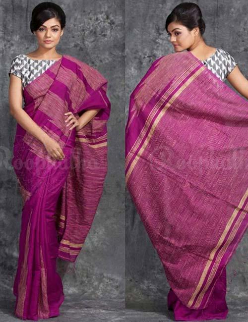 8. The Alluring Cotton Saree