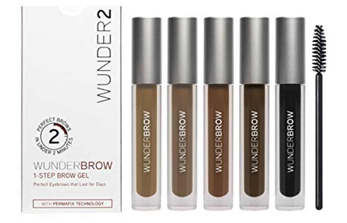 8. Wunder2 Wunderbrow Eyebrow Gel
