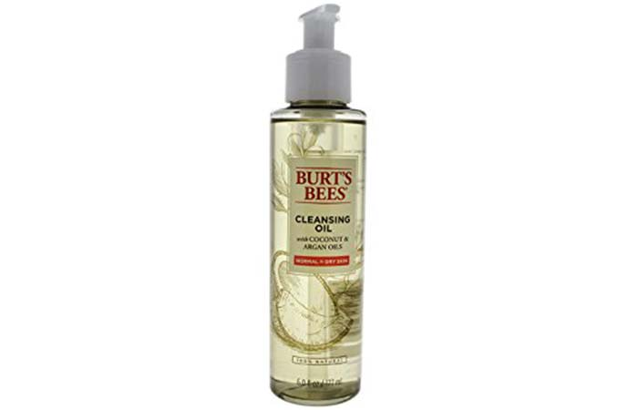 9. Burt's Bees Cleansing Oil