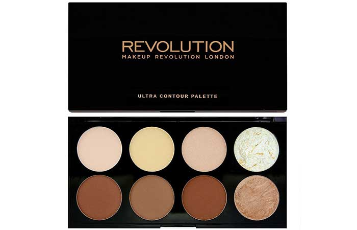 5ed6854143af3 Best Drugstore Contour Kits - 9. Makeup Revolution Ultra Contour Palette