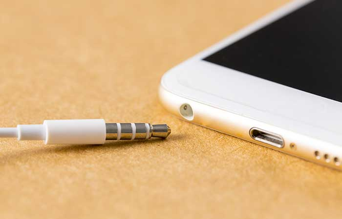 9. The Stripes On Your Headphone Jack