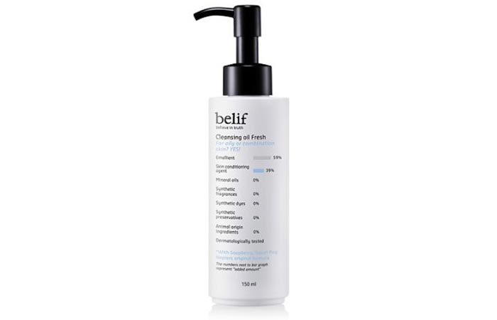 Belif Cleansing Oil
