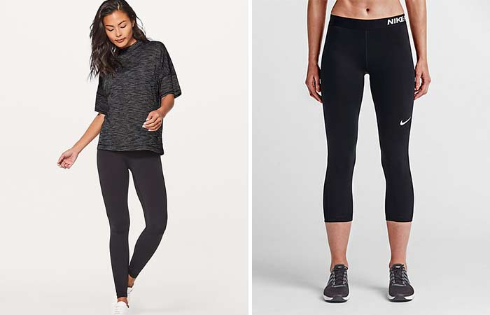 Workout Clothing Brands - For Apple Body Type