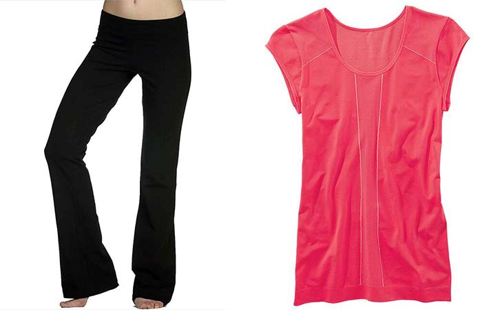 Workout Clothing Brands - For Pear Shaped Body Type