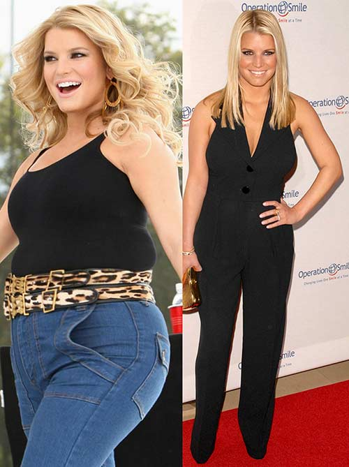 Jessica Simpson's Weight Loss Di