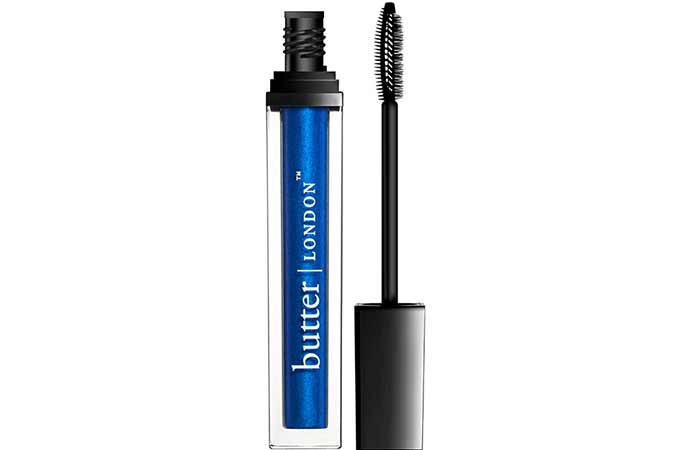 Best Blue Mascaras - 8. Butter London Inky Six ElectraLash Colour Amplifying Mascara In Vibrant Blue Shimmer