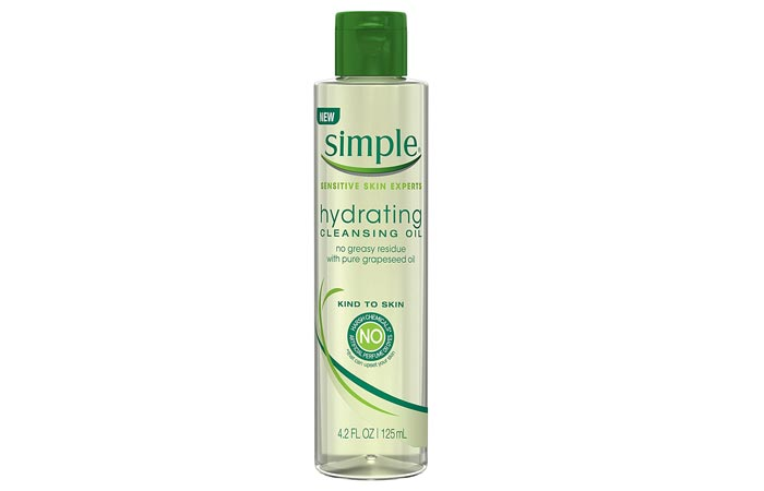 Simple Kind To Skin Hydrating Cleansing Oil