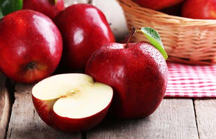 foods that make you poop -Apples