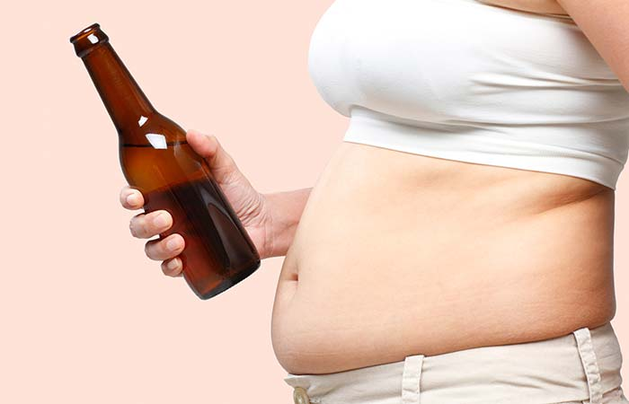 1. Belly Caused By Alcohol