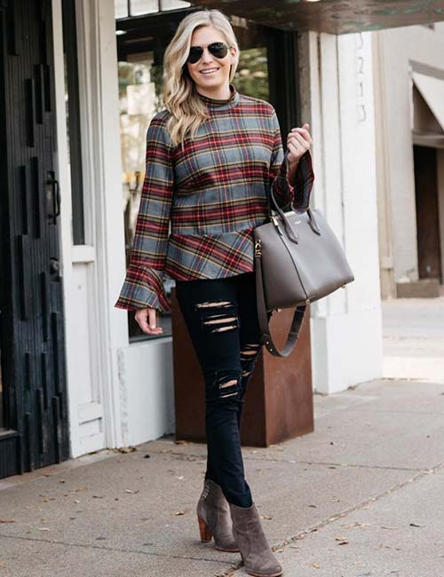 How To Wear A Flannel - Flannel Sweater