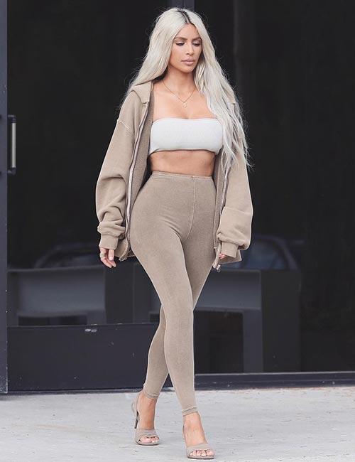Kim Kardashian Looks - Her Yeezy Style