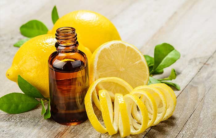 Essential Oils For Sinus Infections - Lemon Essential Oil