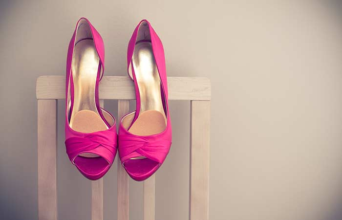 Types Of Heels - Peep Toes
