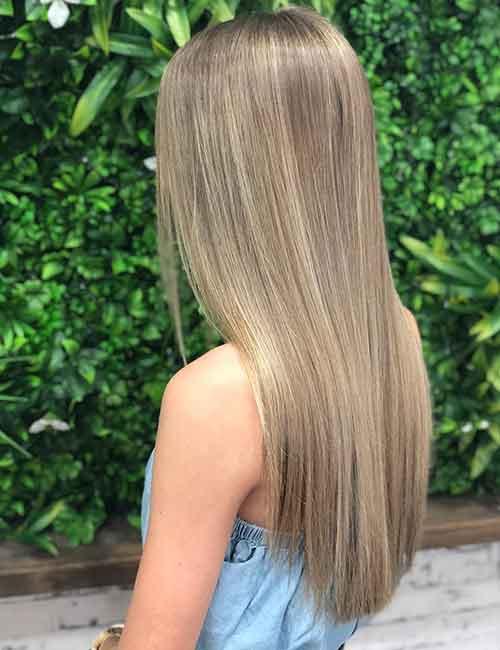 Blonde Balayage - Subtle Blonde Balayage