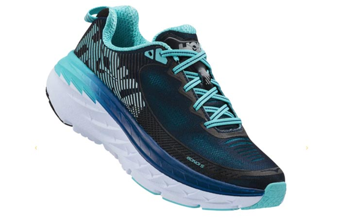 Best Running Shoes For Flat Feet - HOKA Bondi 5